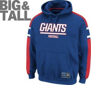 Big and Tall NY Giants apparel, big tall ny giants sweatshirt hoodie