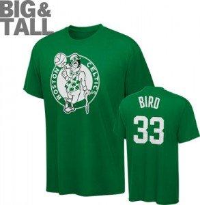 Boston celtics big tall plus size clothing 2x 3x 4x for Plus size tall t shirts