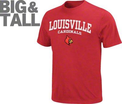 Louisville Cardinals Big Tall Plus Apparel Alumni Gear