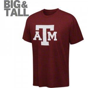 Texas a m aggies big tall plus apparel t shirt hoodie for Plus size tall t shirts