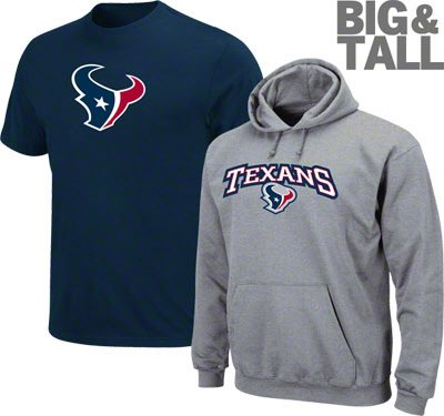 00a7e194 Houston Texans Big, Tall, Plus Size T-Shirt, Hoodies, Jersey, 3X,4X,5X
