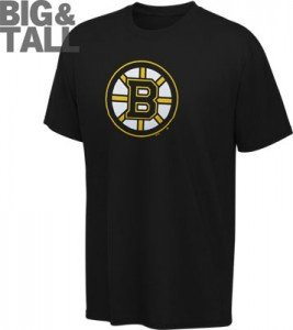 Boston bruins big tall plus size shirts long sleeve for Plus size tall t shirts