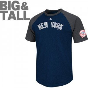 Ny yankees big tall plus t shirts hoodie jersey for Plus size tall t shirts