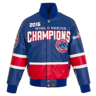 cubs world series champions leather jacket 1ecd1a0ed