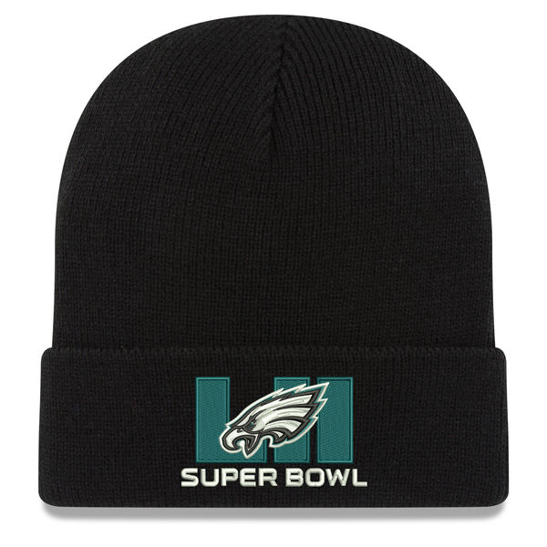 c61a43f4 Eagles Super Bowl LII Hat, Fitted, Adjustable, Knit Mens, Womens, Kids