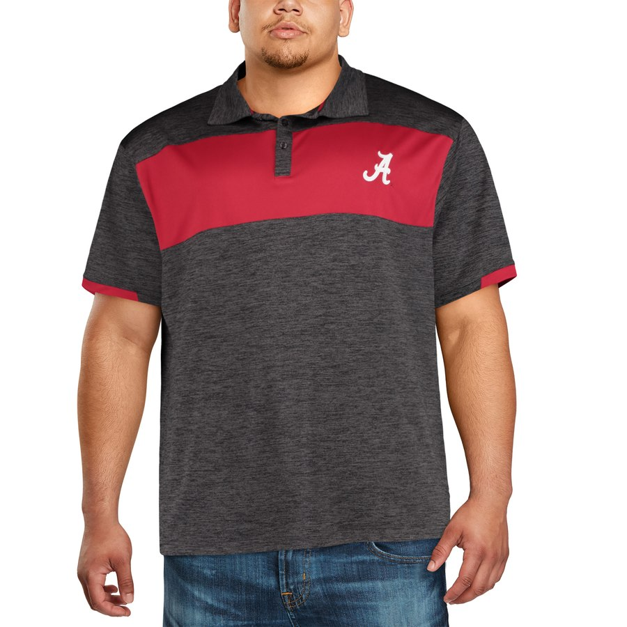92206faa6abe12 big and tall alabama polo tee shirt